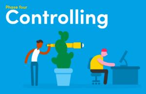 gestão de projetos: Fase-de-controle