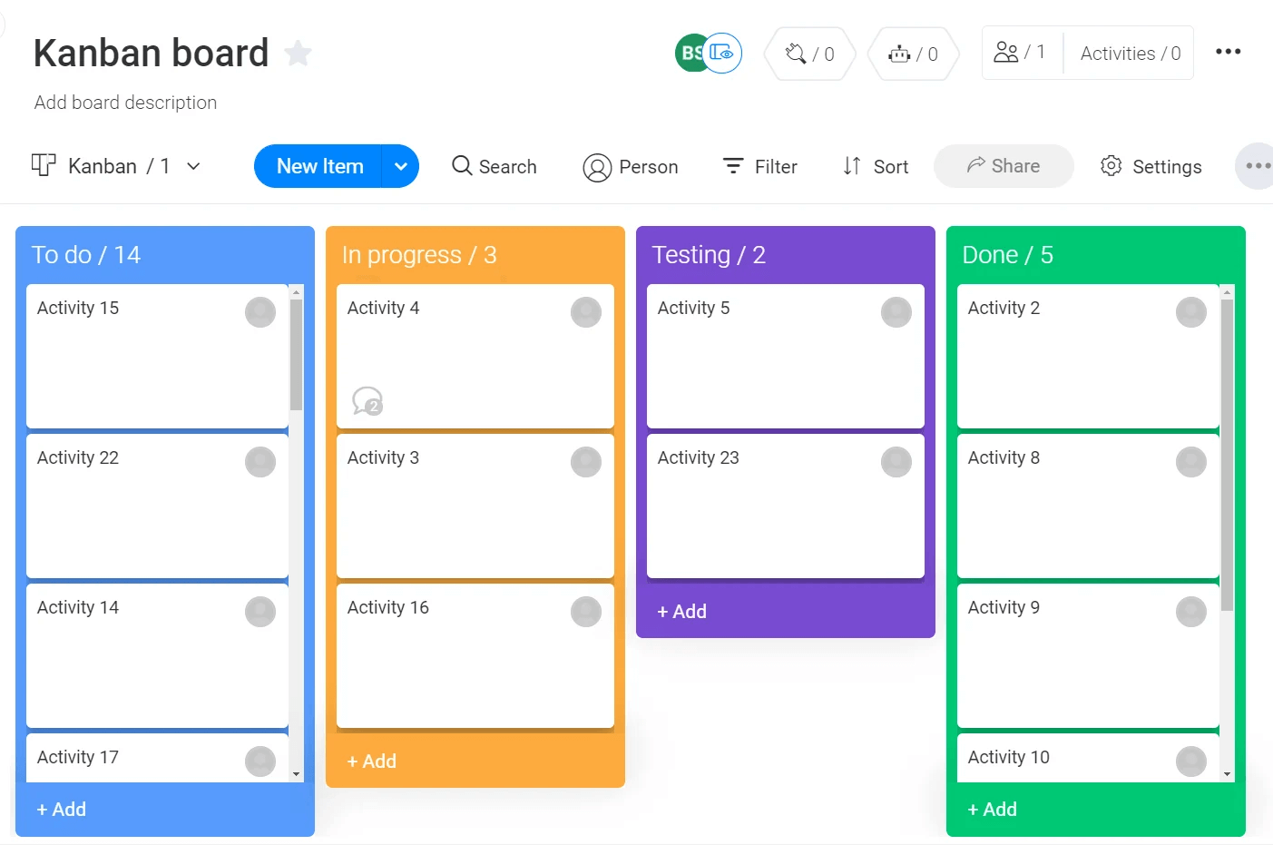 scrumban board monday.com kanban board template