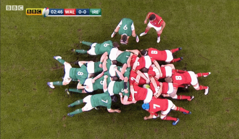 why is it called scrum rugby formation metaphor