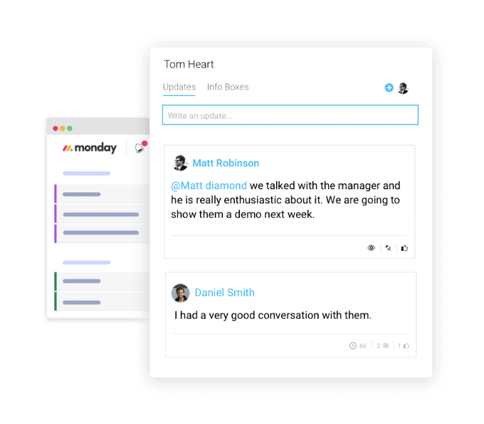 Collaboration for remote teams on monday.com